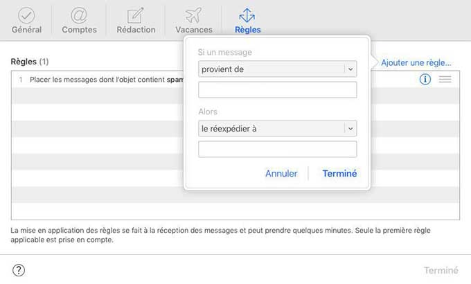 Comment rediriger ses e-mails iCloud vers Gmail - Net Passe