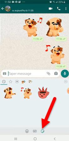 WhatsApp Stixkers