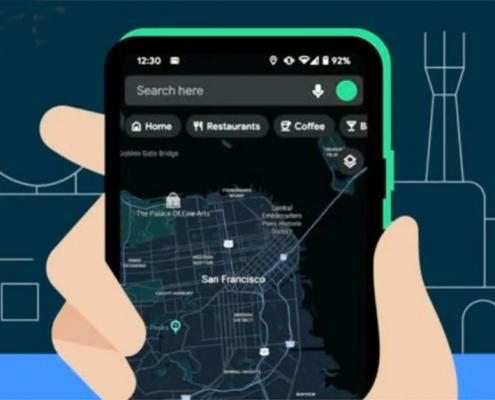 Le mode sombre Google Maps est enfin officiel