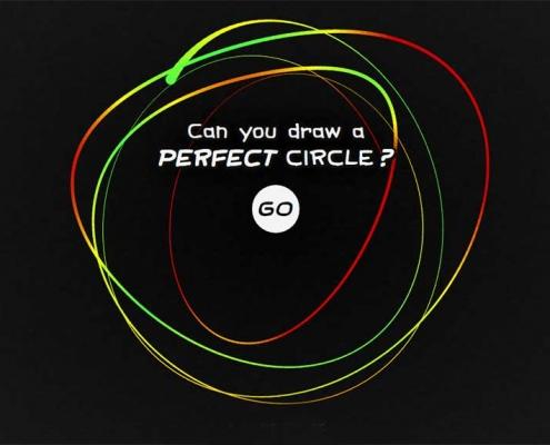 """Le jeu du cercle parfait de TikTok """"perfect circle game"""" attire des millions de spectateurs par jour"""